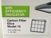 Kohlefilter Elica Modell 15, 9029793818